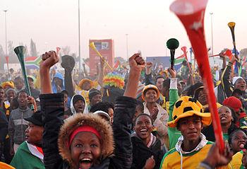 Johannesburg - Fans of Bafana Bafana, as the S...