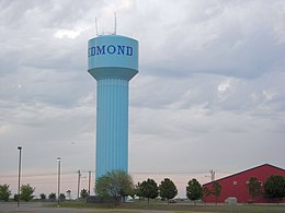 Water tower in Edmond, Oklahoma.jpg