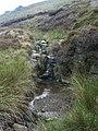 Waterfall, William Clough - geograph.org.uk - 222398.jpg