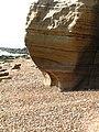Wave Cut Notch, Fairlight Head - geograph.org.uk - 771010.jpg