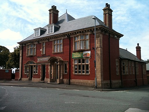 Creative Commons image of The Weaver Hotel in Runcorn
