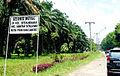 Welcome Gate To Setia Negara, Siantar Sitalasari, Pematangsiantar.JPG
