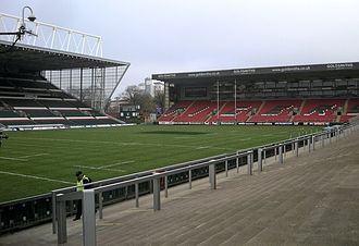 Welford Road Stadium - Image: Welford Road, Leicester Tigers