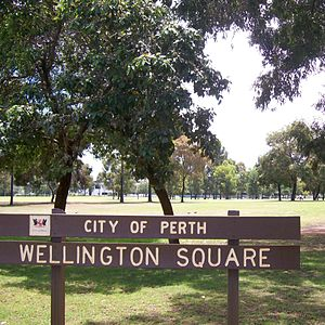 Wellington Square, Perth - Wellington Square