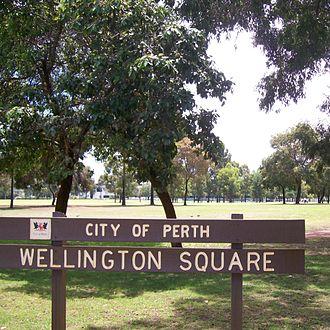 Wellington Square, Perth - Wellington Square
