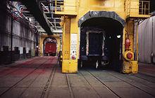 Werkplaats Mechelen 1985 Schilder werkplek 01.jpg
