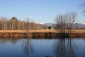 Fryeburg, Maine - Image: White Mountains