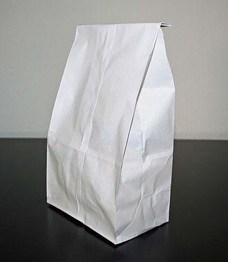 Bag - A paper bag