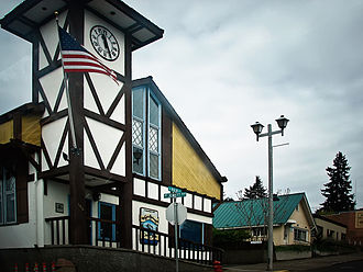White Salmon, Washington - White Salmon City Hall.