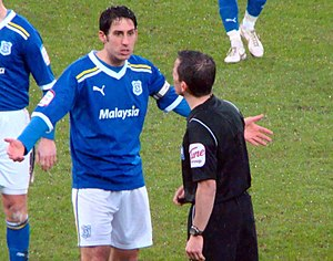 Peter Whittingham - Whittingham playing for Cardiff City in 2012