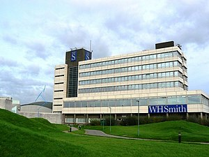 WHSmith - W. H. Smith's headquarters in Swindon
