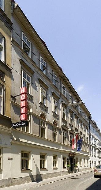 Hotel Graf Stadion (Vienna) - Image: Wien 08 Hotel Graf Stadion 01
