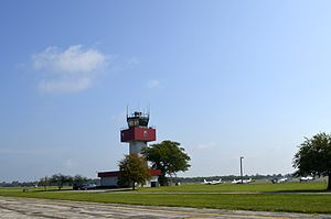 Ohio State University Airport - Control Tower