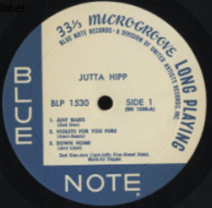 Jutta Hipp - An album by Jutta Hipp