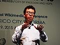 Wikimanía 2015 - Day 4 - Luis von Ahn conference - LMM (18).jpg