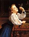 William-Adolphe Bouguereau (1825-1905) - Tête d'Etude l'Oiseau (1867).jpg