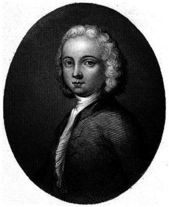 William Collins (poet) - The sole portrait of William Collins
