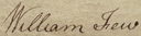 William Few signature.png