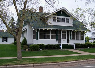 National Register of Historic Places listings in St. Croix County, Wisconsin - Image: William J. Bernd House (2nd St.) 1