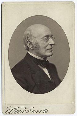 William lloyd garrison carte de visite