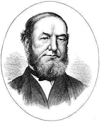 William Jones (Chartist) - 1874 engraving