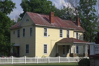 Rosedale Historic District (Covington, Virginia) - Image: William and Annie and Mc Allister House