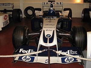 Williams FW26 -  Juan Pablo Montoya FW26 in the Donington Grand Prix Exhibition.