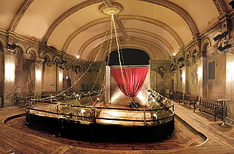 Wilton's Music Hall - The view down onto the stage from the gallery of Wilton's Music Hall.