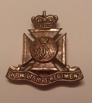 Wiltshire Regiment - Wiltshire Regiment Cap Badge