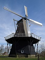 Windlust molen windmill Burum.jpg