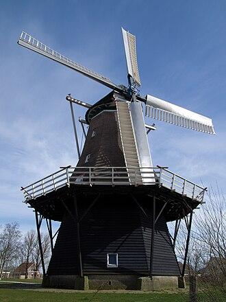 Burum, Friesland - Image: Windlust molen windmill Burum