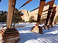 Window Rock, AZ-Navajo Veteran's Memorial, 2010 - panoramio.jpg