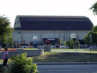 Windsor Arena - Image: Windsor Arena the old Barn home of Spitfires