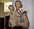 Wismar, St. Laurentius Heiliger mit Jesuskind und Lilie.JPG