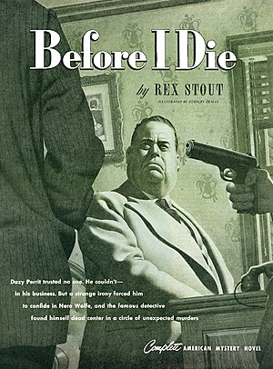 """Before I Die (short story) - Stanley Ekman illustrated """"Before I Die"""" for the April 1947 issue of The American Magazine"""