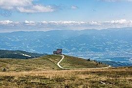 Wolfsberg Lading Saualpe Wolfsberger Hütte W-Ansicht 03092019 7110.jpg