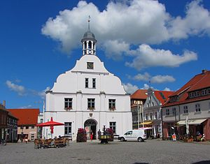 Wolgast - Old town hall of Wolgast