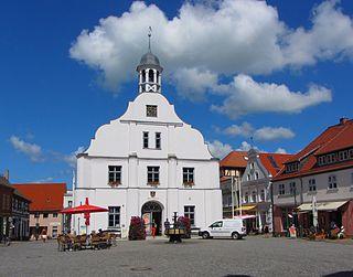 Wolgast Place in Mecklenburg-Vorpommern, Germany