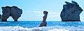 Woman in baia delle zagare, Vieste, Apulia.jpg