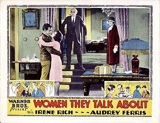 <i>Women They Talk About</i> 1928 film by Lloyd Bacon