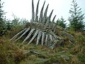 Wood sculpture in Grizedale Forest - geograph.org.uk - 453414.jpg