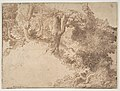 Woodland Scene with Light Sketch of a Madonna and Child MET DP810704.jpg