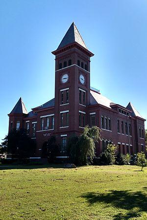 Woodruff County, Arkansas - Image: Woodruff County Courthouse 005