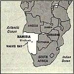 World Factbook (1982) Namibia.jpg