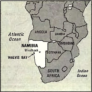 World Factbook (1982) Namibia.jpg