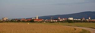 Blick auf Wiener Neustadt von Westen