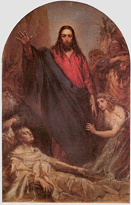 Wskrzeszenie Łazarza - obraz Jana Matejki