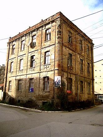 Xhafer Deva - Xhafer Deva's house in Mitrovica
