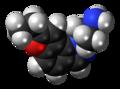 YM-348 molecule spacefill.png