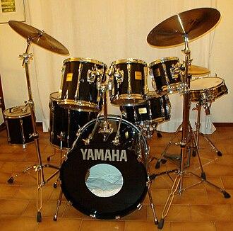 Yamaha Drums - Rock Tour Custom.